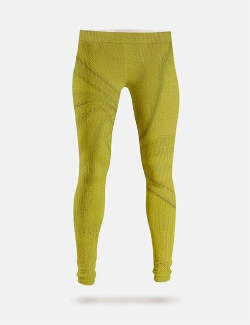 Leggings Lycra Rio chartreuse