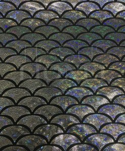 Lycra printed glittery capsule 5