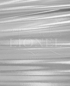 Lycra sequined white glittery silver