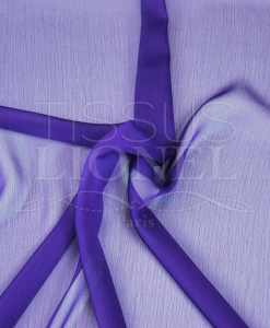 changing two lines chiffon purple
