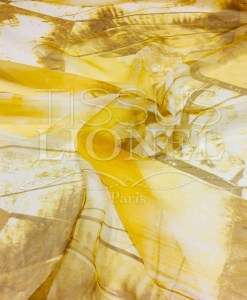 Gradient Yellow Chiffon