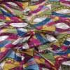 Mousseline imprimé paisley 1