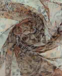 organza imprimé tigre