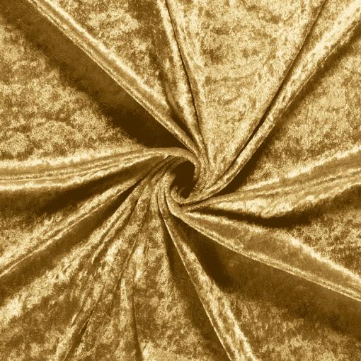 Panne de velours doré