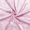 Panne de velours rose pale