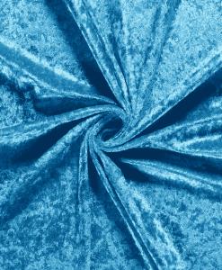 Panne de velours turquoise