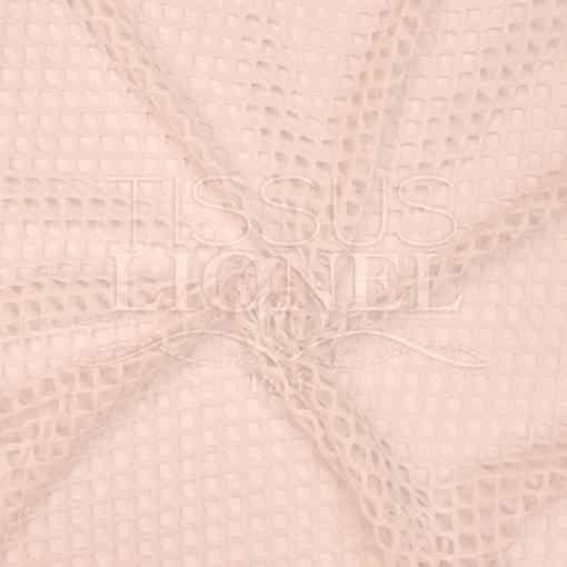 résille grosse maille nude rosé