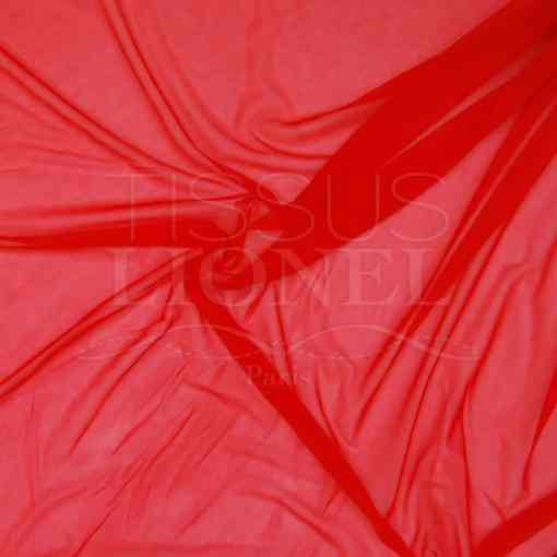 lycra résille double rouge