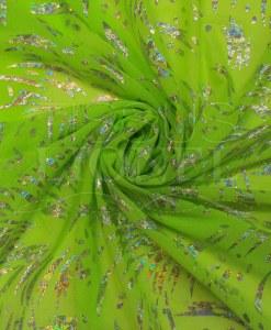 resille лайкра флуоресцентный зеленый голограмма серебро блестки психо