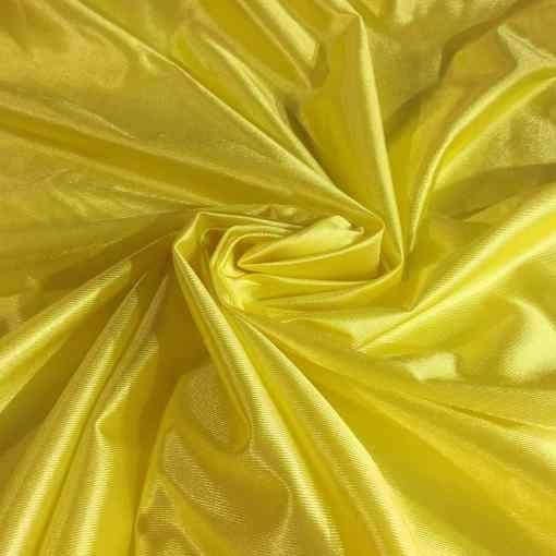Satin maille charmeuse jaune