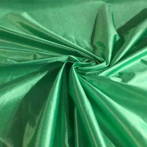Satin maille charmeuse vert brazile