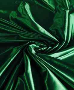 Satin maille charmeuse vert