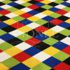 Tissu Burlington arlequin 5 couleurs clair
