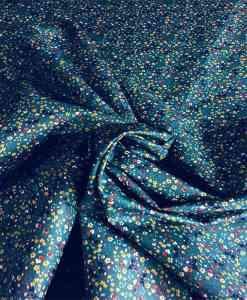 Tissu coton petite fleurs multicolors