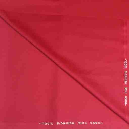 Tissu lainage fuchsia merino's wool