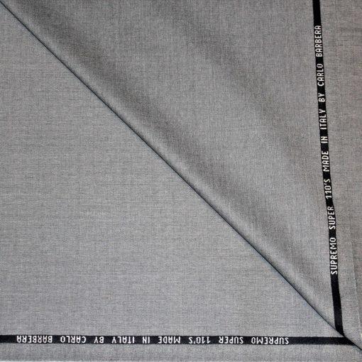 Tissu lainage gris by Carlo Barbera
