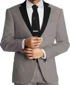 panno di lana grigio