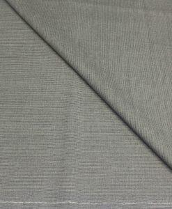 Tissu lainage gris raye