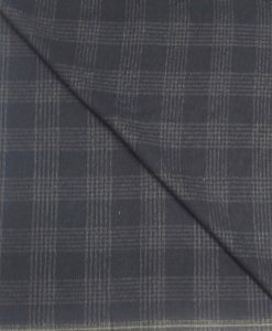 Tissu lainage prince de galle marine