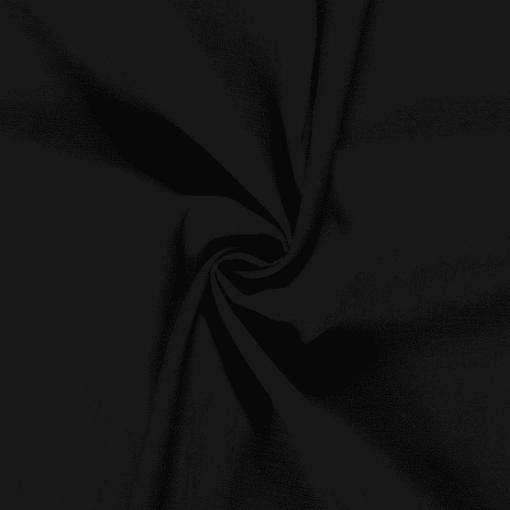 Tissu lin pur noir