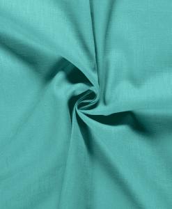 Tissu lin turquoise