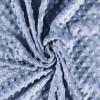 Tissu minky bleu
