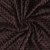 Minky marron foncé
