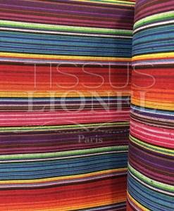 Tissu poncho mexicain 018