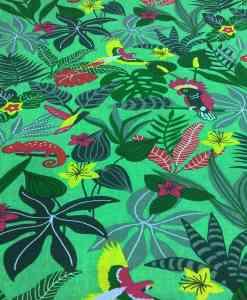 poplin cotton fabric Caribbean