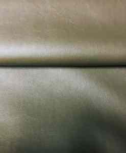 Tissu simili cuir olive