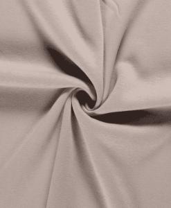 Tissu sweat molleton beige