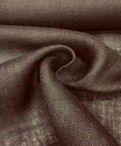 brown burlap cloth
