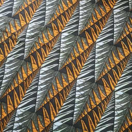 Tissu wax tropique