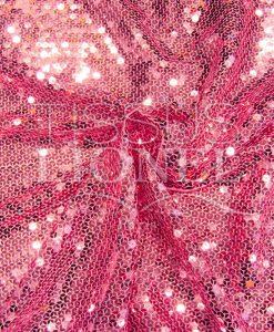 розовый с блестками Тюль