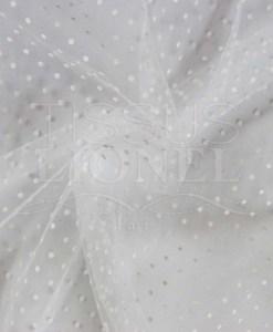 plumtié белого тюля белые точки