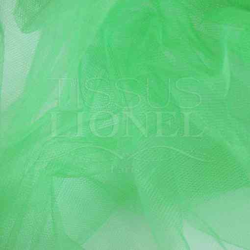 tulle red vert pale