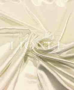 Velours de soie écru brillant