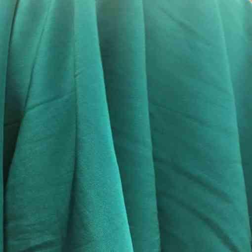 Velours de soie vert changeant vert
