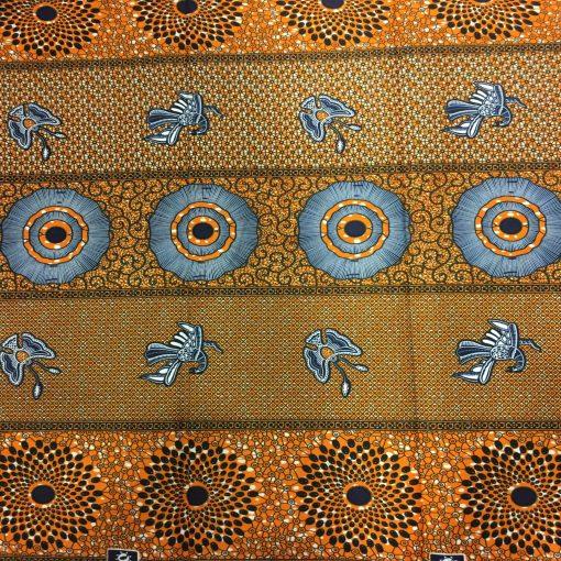 Wax- Tissus africain migration