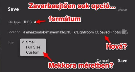 lightroom cc export opciók 1