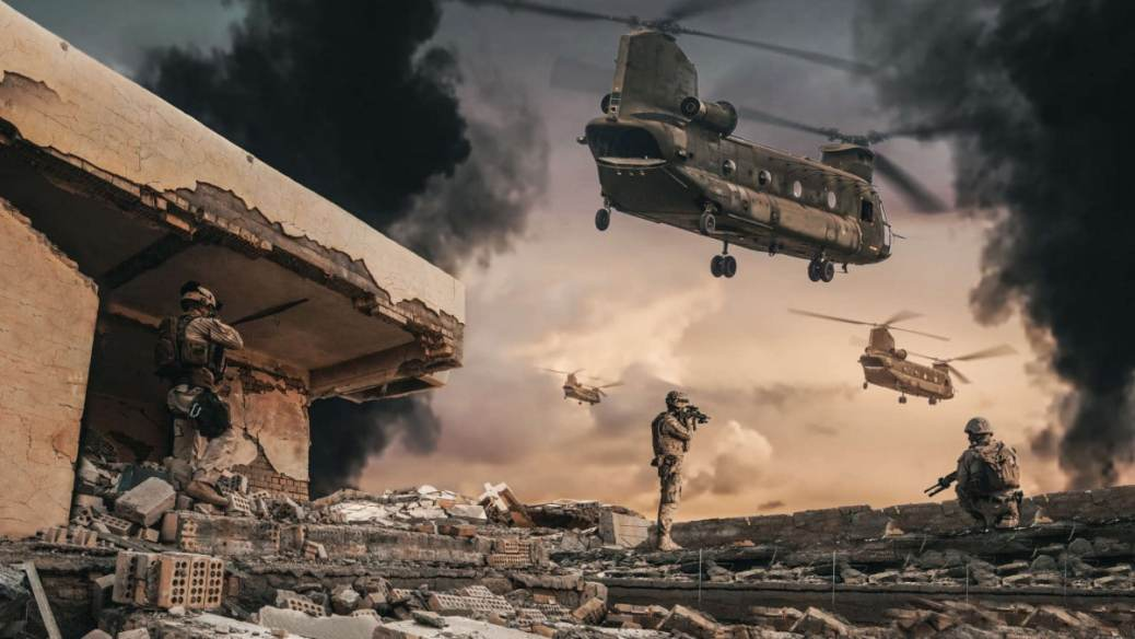 ArmA 3 Chinook CH47