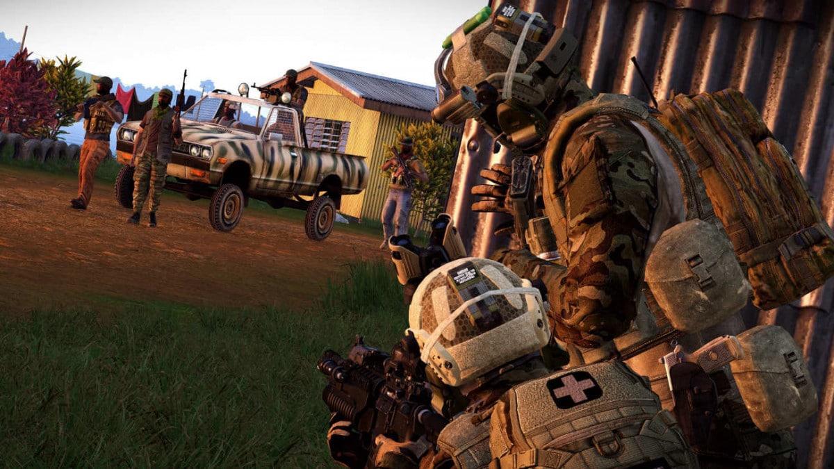 ArmA 3 Ambush spy Tanoa