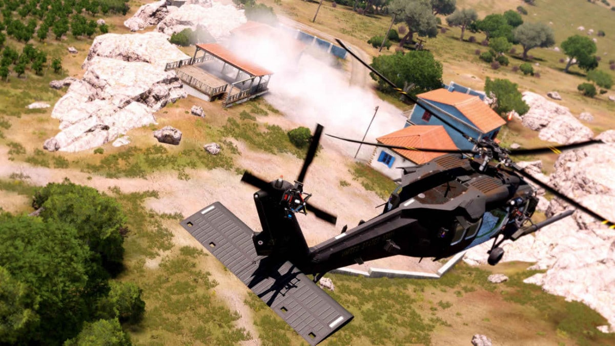 ArmA 3 Blackhawk Yax UH-60