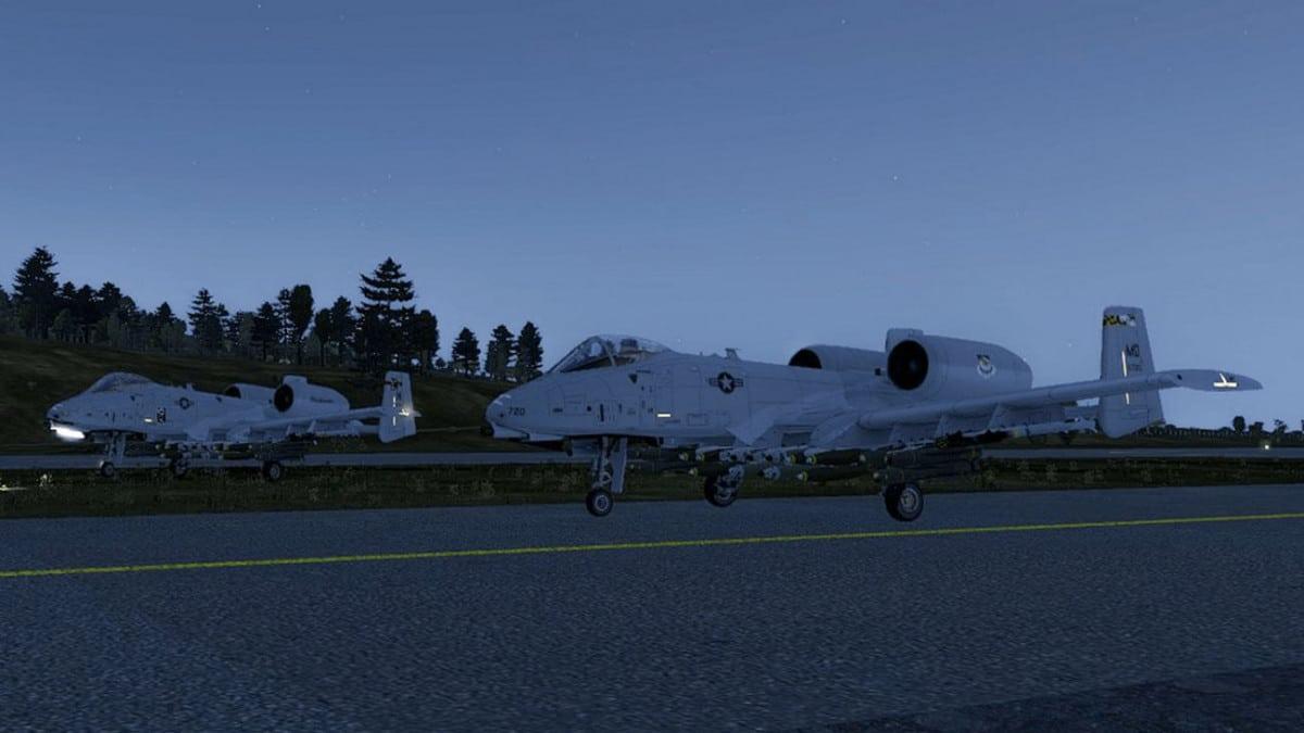 ArmA 3 A-10 Thunderbolt Take off