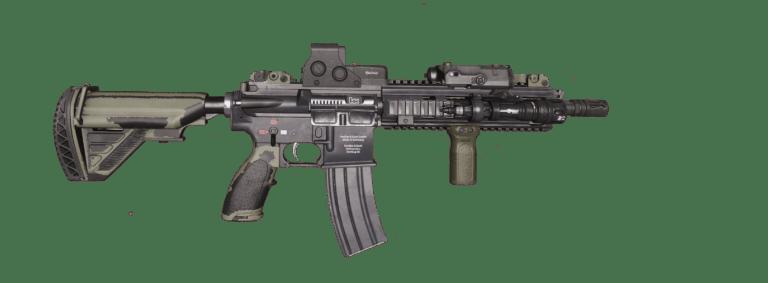 ArmA 3 MilSim Clan - HK416 trans