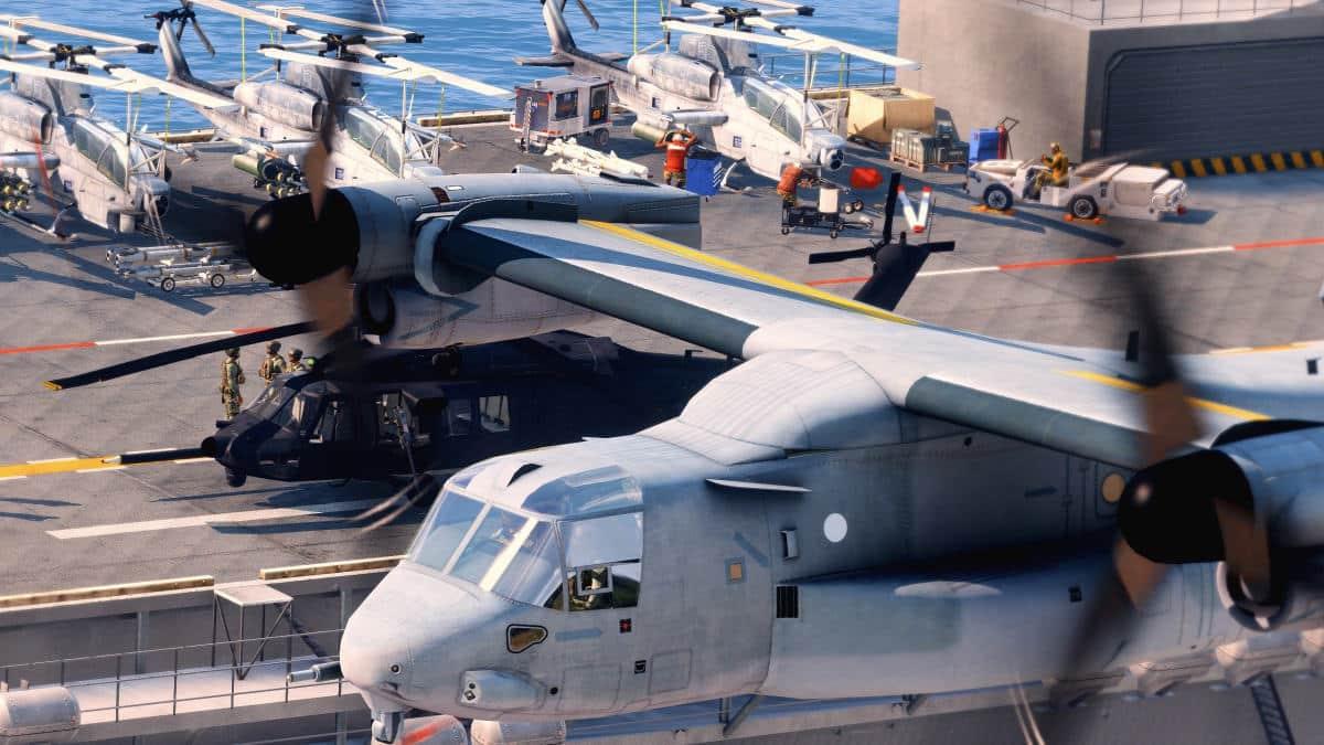 ArmA 3 Osprey V22 LHD WASP