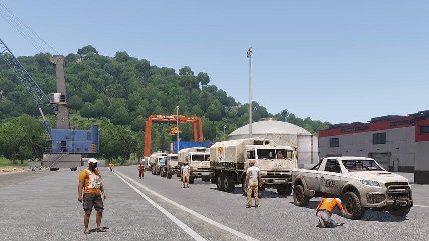 ArmA 3 Convoy Ambush Tanoa