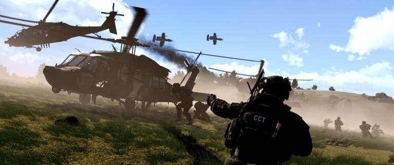 ArmA 3 Clan MilSim Blackhawk extraction