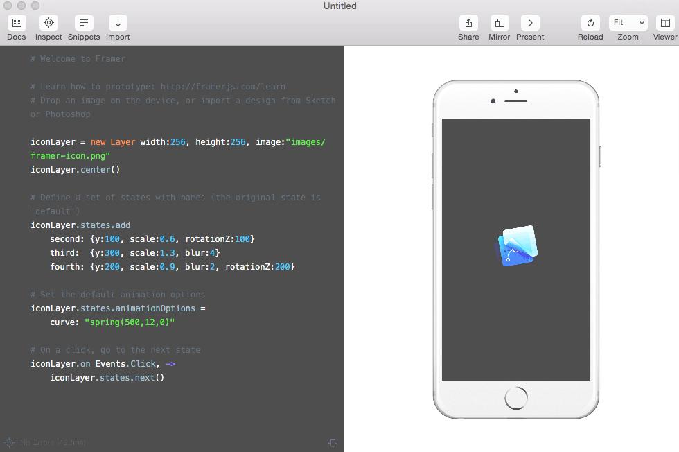Framer JS Basics, Tutorial And Examples For Beginners