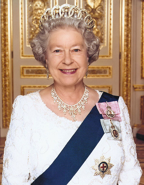 her majesty queen elisabeth of england